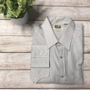 Ely Cattleman Western Pearl Snap L/S Shirt